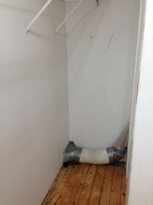 closet interior before