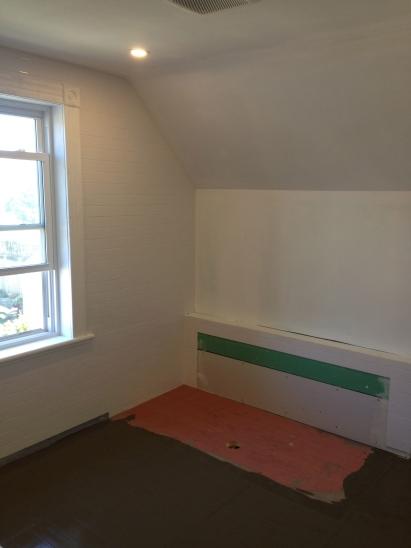 subway tile walls floor prep
