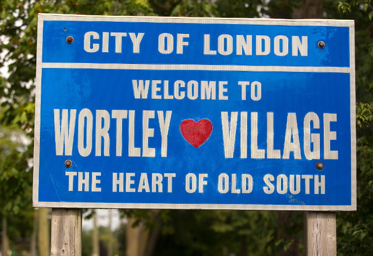 wortley village sign1