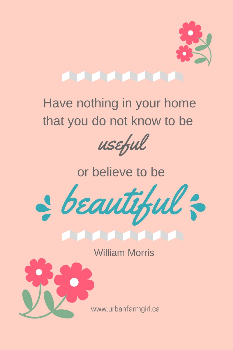 Favourite William Morris Quote