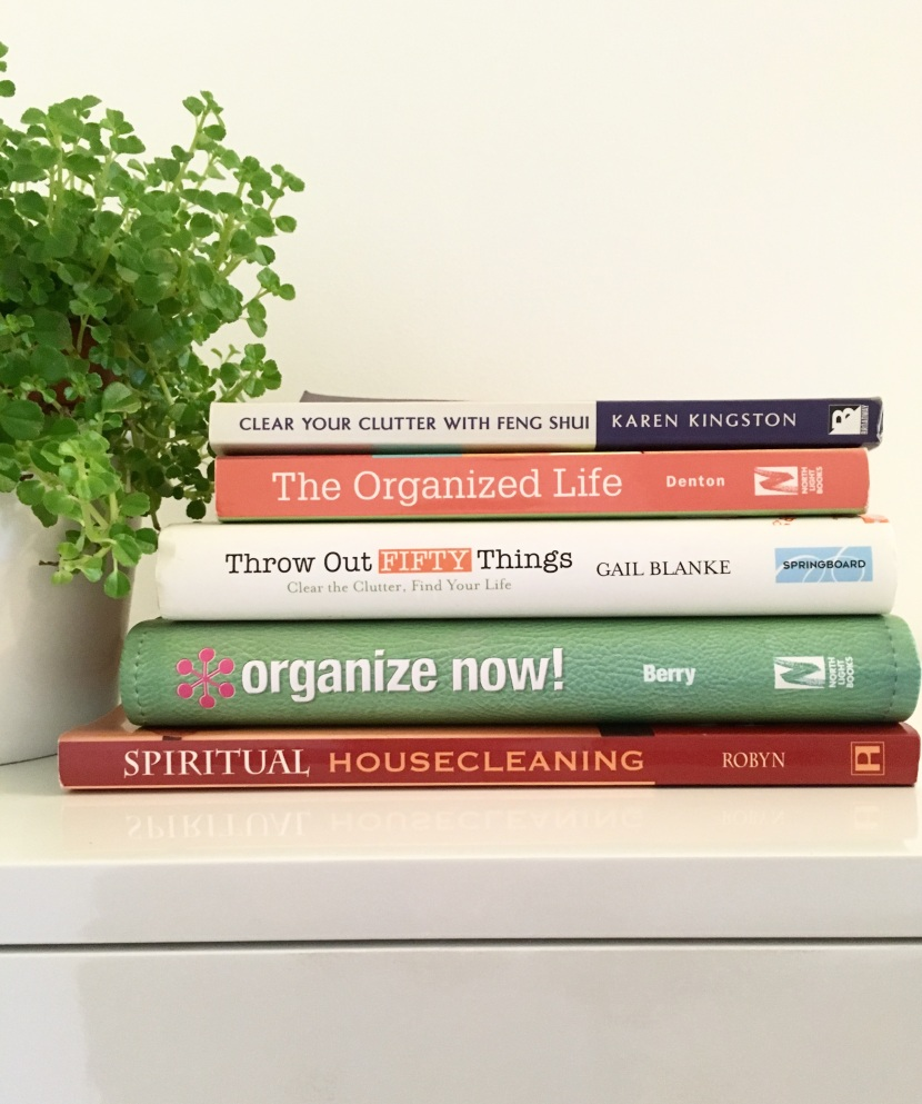 clutter clearing and organization books